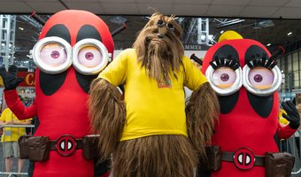 A2 Home Page Cosplay Minions Chewbacca Wookie UK Games Expo 2019.jpg